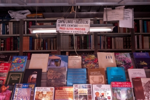 Book stall Madrid, Spain)